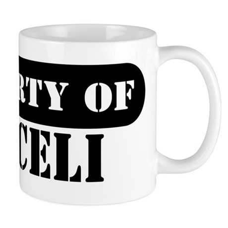 Property of Araceli Mug