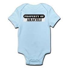 Property of Araceli Infant Bodysuit