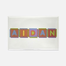 Aidan Foam Squares Rectangle Magnet