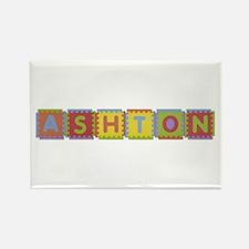 Ashton Foam Squares Rectangle Magnet