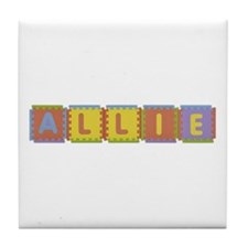 Allie Foam Squares Tile Coaster