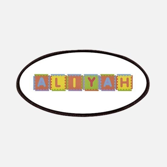 Aliyah Foam Squares Patch
