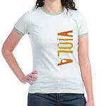Viola Stamp Jr. Ringer T-Shirt