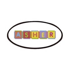 Asher Foam Squares Patch