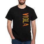 Viola Stamp Dark T-Shirt