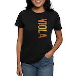 Viola Stamp Women's Dark T-Shirt