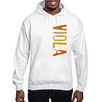 Viola Stamp Hooded Sweatshirt