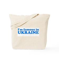 [i'm famous in ukraine] Tote Bag