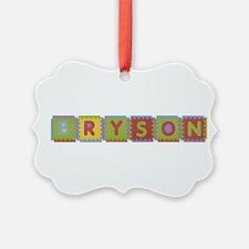 Bryson Foam Squares Ornament