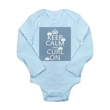 Keep Calm and Curl On (curling) Body Suit