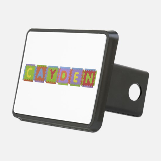 Cayden Foam Squares Hitch Cover