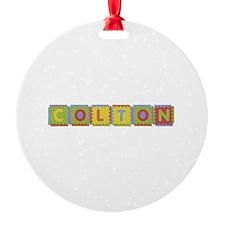 Colton Foam Squares Ornament