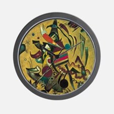 Points by Kandinsky, Abstract Art Wall Clock