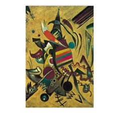 Points by Kandinsky, Abst Postcards (Package of 8)