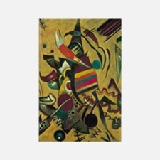 Points by Kandinsky, Abstract Art Rectangle Magnet