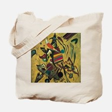 Points by Kandinsky, Abstract Art Tote Bag