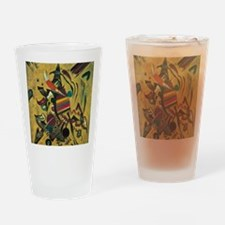 Points by Kandinsky, Abstract Art Drinking Glass