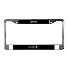 Cute A.d.d License Plate Frame
