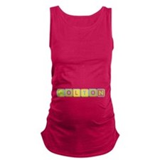 Colton Foam Squares Maternity Tank Top