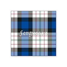 "Tartan - Fergusson dress Square Sticker 3"" x 3"""