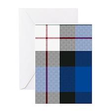Tartan - Fergusson dress Greeting Card