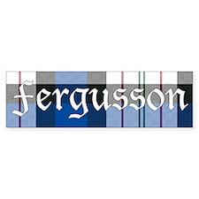 Tartan - Fergusson dress Bumper Sticker