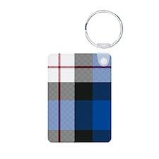 Tartan - Fergusson dress Aluminum Photo Keychain