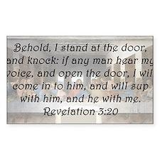 Revelation 3:20 Decal