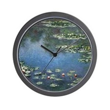 Water Lilies by Claude Monet Wall Clock