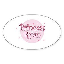 Ryan Oval Stickers