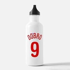 DoBro9 in Red Water Bottle