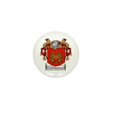Williams Coat of Arms Mini Buttons (10 pack)