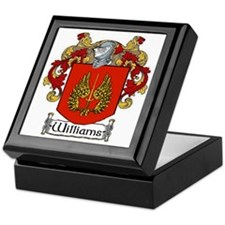 Williams Coat of Arms Keepsake Box