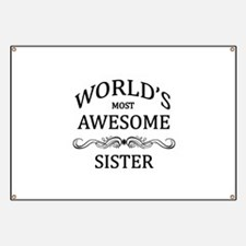 World's Most Awesome Sister Banner