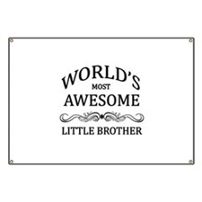 World's Most Awesome Little Brother Banner