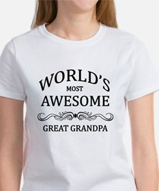 World's Most Awesome Great Grandpa Tee