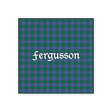 "Tartan - Fergusson Square Sticker 3"" x 3"""