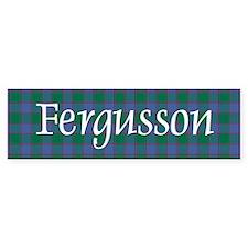 Tartan - Fergusson Bumper Sticker