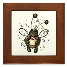 Hap-Bee Birthday Framed Tile