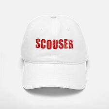 Scouser Red Grunge Baseball Baseball Baseball Cap
