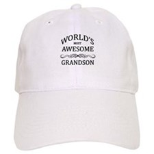 World's Most Awesome Grandson Baseball Cap