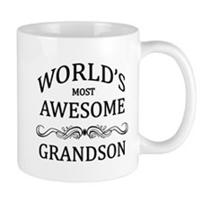 World's Most Awesome Grandson Mug