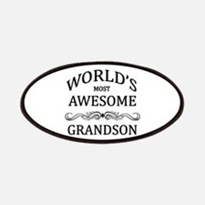 World's Most Awesome Grandson Patches
