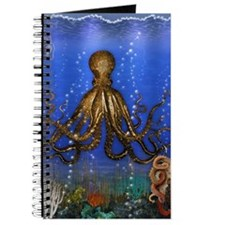 Octopus' Lair - colorful Journal