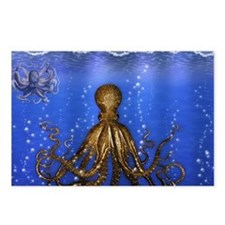 Octopus' Lair - colorful Postcards (Package of 8)