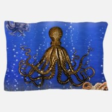Octopus' Lair - colorful Pillow Case