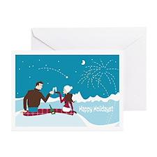 "Card ""Happy Holidays"" (Set of 10)"