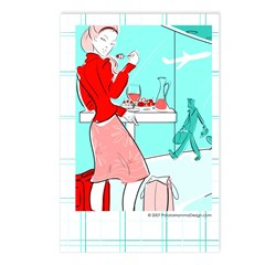 "Postcard ""Airport Beauty"" (Set of 8)"