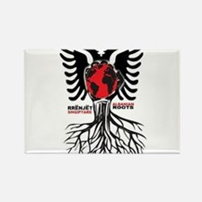 Albanian Roots Rectangle Magnet