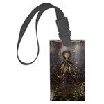 Octopus' lair - Old Photo Large Luggage Tag